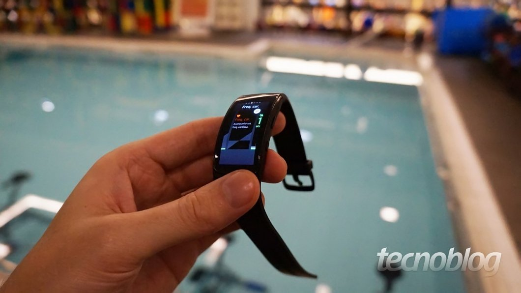 Gear Fit 2 Pro es la pulsera de trajes de baño de Samsung