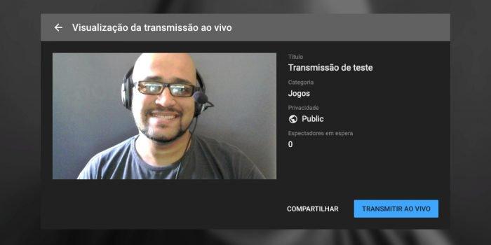 Cómo vivir en YouTube (transmisión en vivo) 4