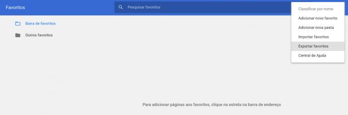 Importar y exportar marcadores en Google Chrome 3