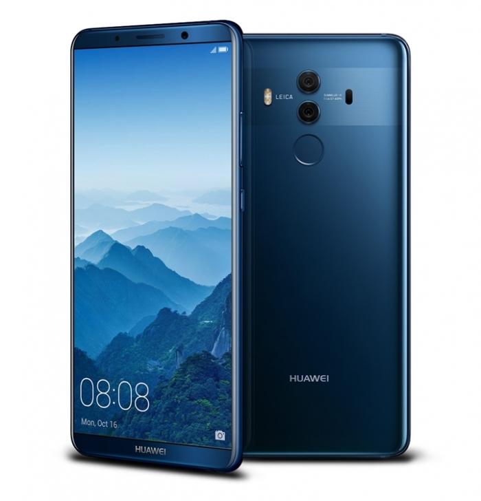 Huawei Mate 10 y Mate 10 Pro traen una pantalla de bordes delgados y un chip AI 3