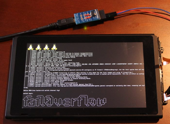 Los hackers pudieron ejecutar Linux en Nintendo Switch 1
