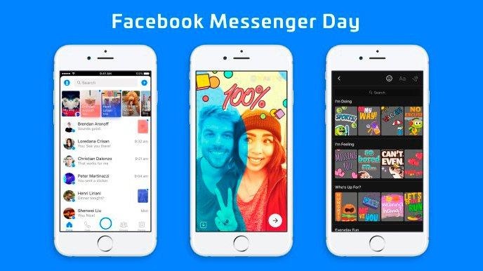 Facebook lanza otra copia de Snapchat, ahora en Messenger 1
