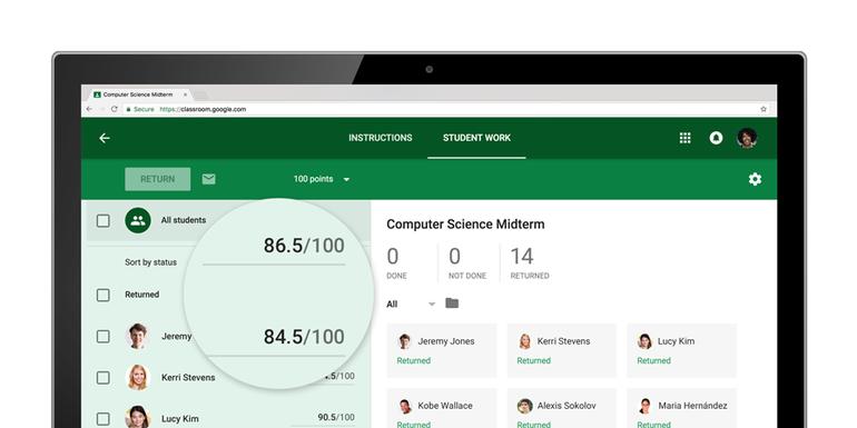 Google Classroom recibe noticias para mejorar las aulas virtuales 2