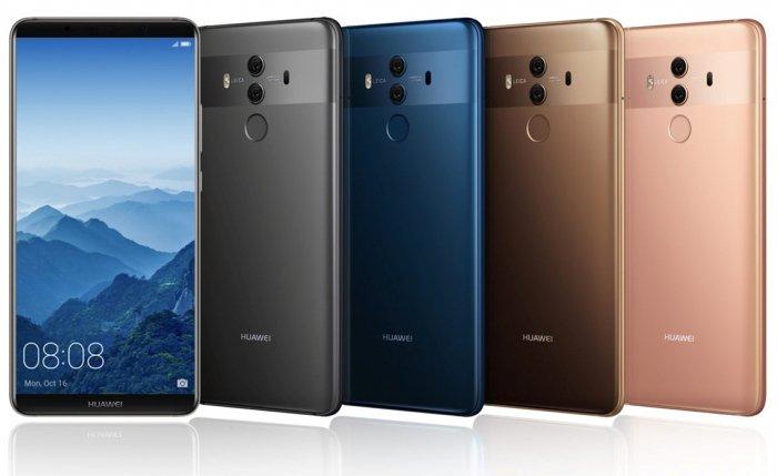 Huawei Mate 10 y Mate 10 Pro traen una pantalla de bordes delgados y un chip AI 1