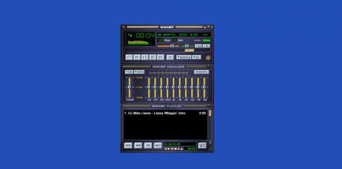 Hicieron un clon de un Winamp que se ejecuta en el navegador 1