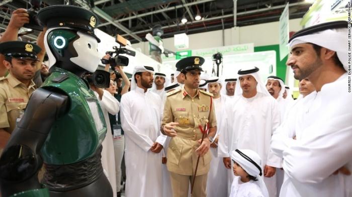 Dubai quiere estación de policía sin policía humana para 2030 1