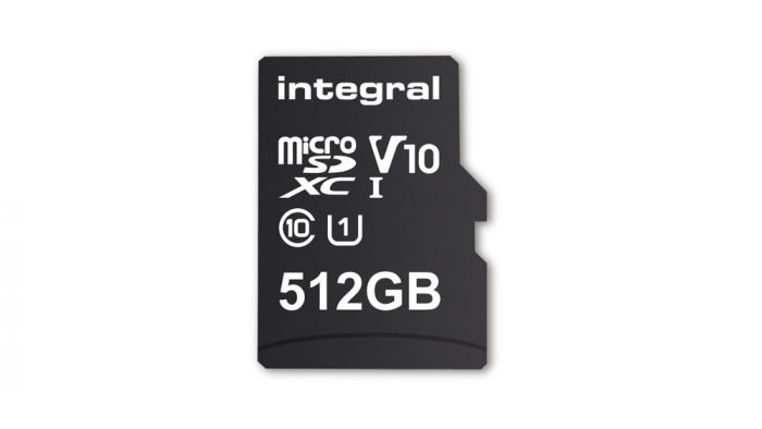 La tarjeta microSD de mayor capacidad del mundo es de 512 GB 1