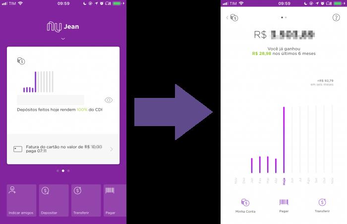 Cómo usar la nueva aplicación Nubank 4