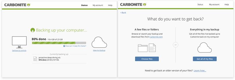 Los servicios para respaldar en la nube todos los archivos en su PC 2
