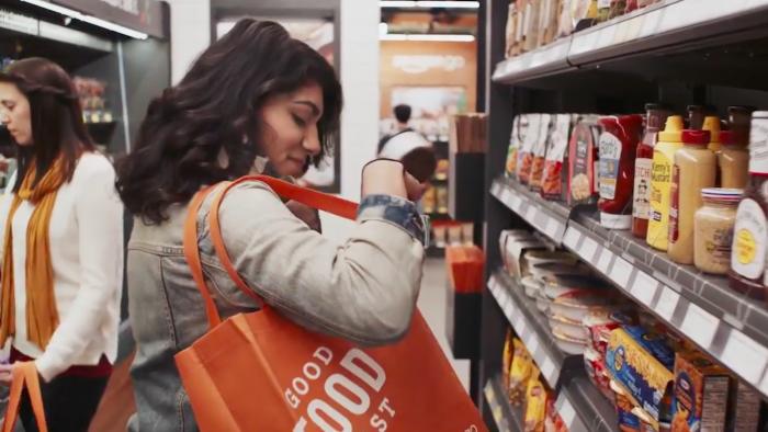 En este supermercado de Amazon, solo toma lo que quieras y aléjate 1