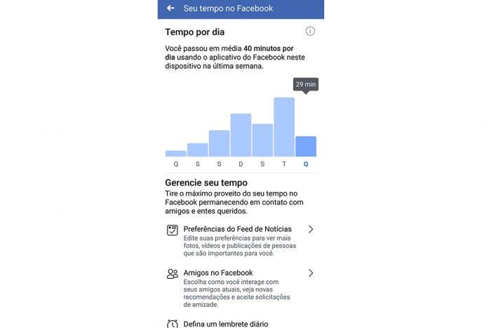 Cómo saber cuánto tiempo pasas en Facebook 4