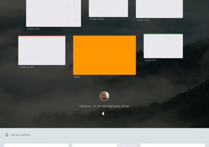 Estas son las primeras imágenes de Fuchsia, el nuevo sistema operativo de Google. 3