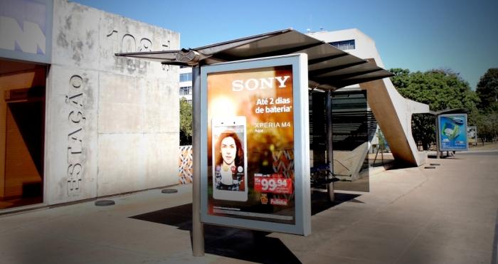 Las paradas de autobús y los relojes de la calle se convertirán en antenas de telefonía celular Vivo 1