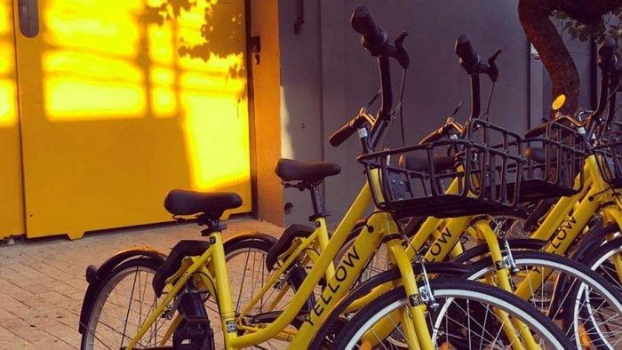 Yellow multará a $ 30 si dejan la bicicleta fuera del área 1