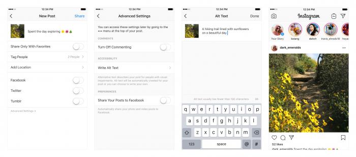 Instagram usa IA para describir fotos para personas con discapacidad visual 2