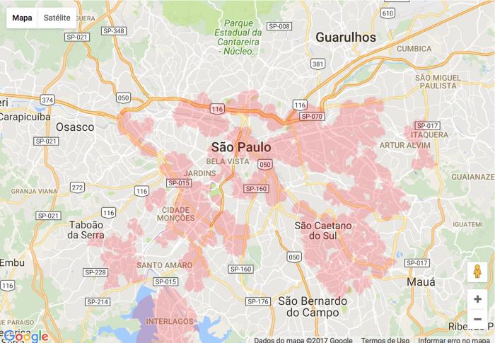 ¿Qué operador tiene la mejor cobertura en Brasil? 6