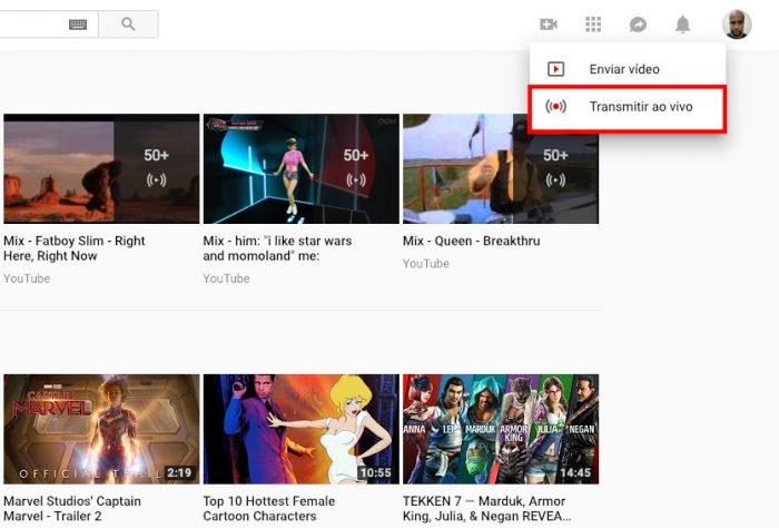 Cómo vivir en YouTube (transmisión en vivo) 2