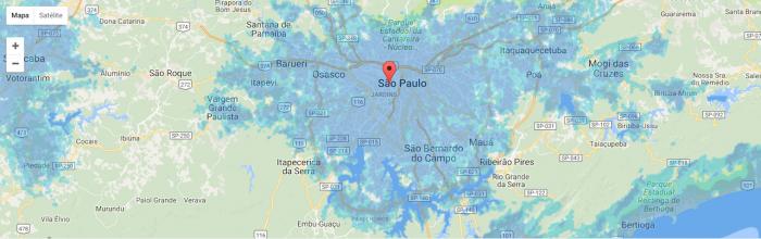 ¿Qué operador tiene la mejor cobertura en Brasil? 2