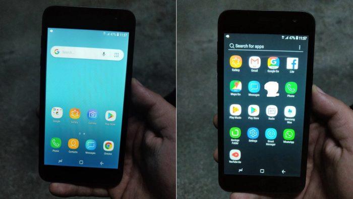 Samsung ha personalizado Android Go para su próximo teléfono barato