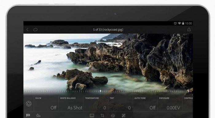 Lightroom para Android ahora es compatible con cualquier foto RAW 1
