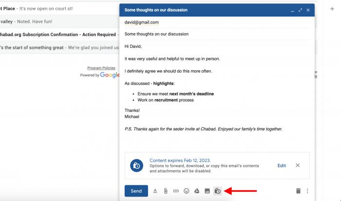 Google prueba mensajes que se autodestruyen en el rediseño de Gmail 2