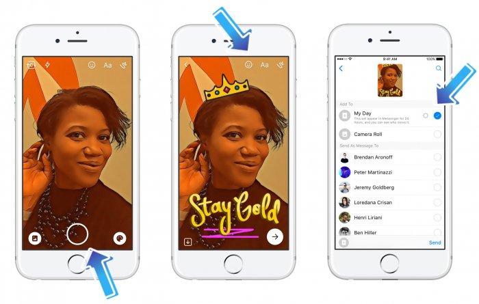 Facebook lanza otra copia de Snapchat, ahora en Messenger 2