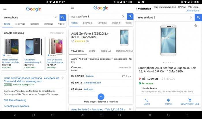 Google ahora muestra si el producto que desea está disponible en tiendas físicas 1