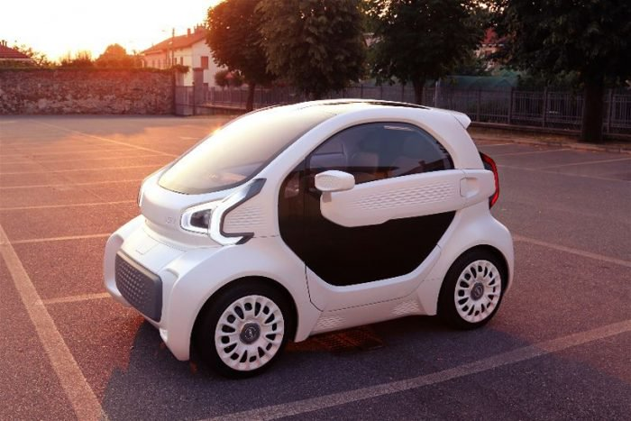 LSEV será el primer automóvil producido en masa con impresión 3D 1