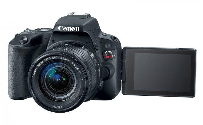 Canon actualiza su línea más asequible de cámaras DSLR, pero sin 4K 4