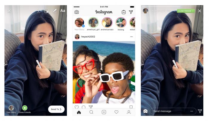 Instagram te permite compartir historias solo con mejores amigos 3