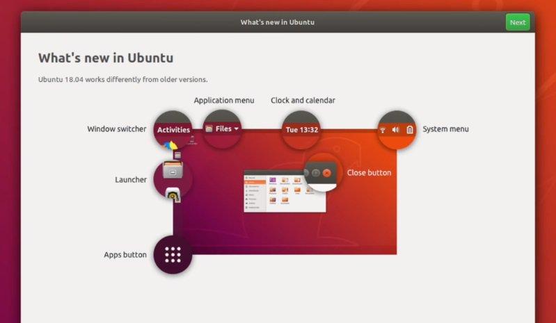 ¿Qué hay de nuevo en Ubuntu 18.04 LTS 2