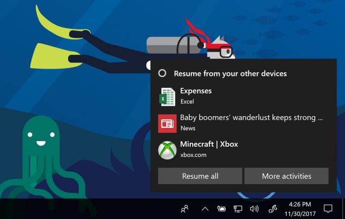 Windows 10 Preview trae la línea de tiempo y las aplicaciones con pestañas 2