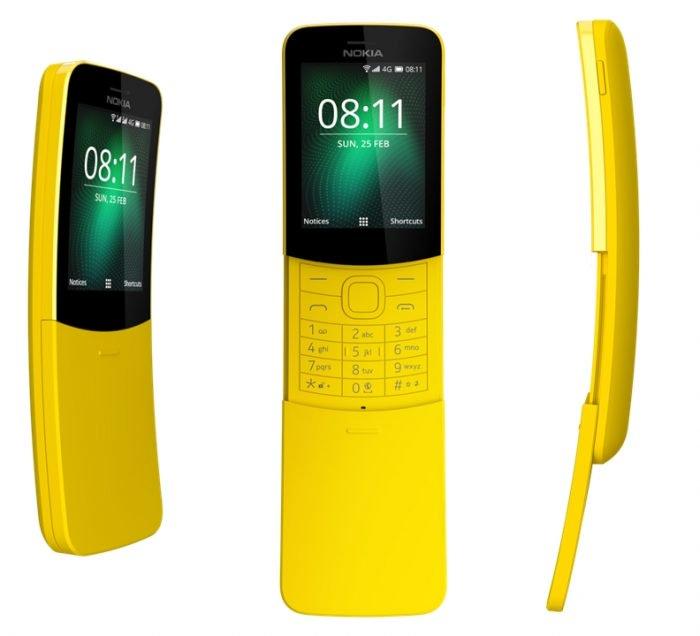 Esta es la versión Nokia 8110 Reloaded 3