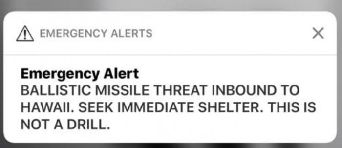 Falsa alerta de teléfono celular advierte sobre amenaza de misil que causa pánico en Hawai 2