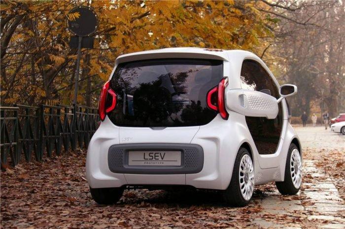 LSEV será el primer automóvil producido en masa con impresión 3D 2