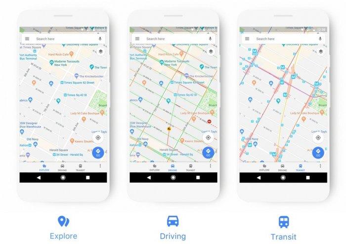 El rediseño hace que Google Maps sea más contextual y fácil de usar 1