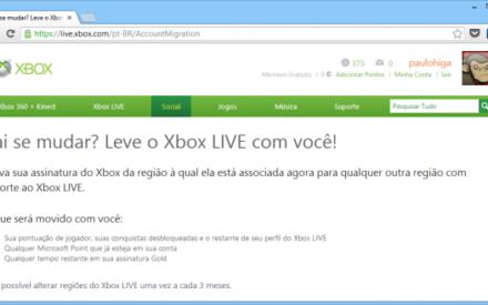 Microsoft lanza herramienta para cambiar la región de la cuenta Xbox Live