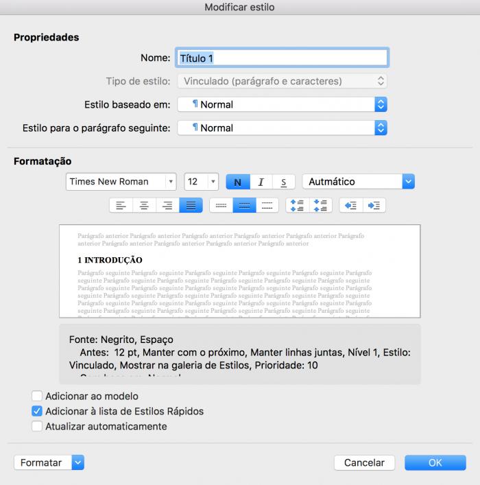 Cómo hacer una tabla de contenido en Word (para Windows o Mac) 5