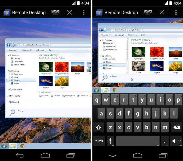 Sorpresa del día: Chrome Remote Desktop y Google Camera, dos nuevas aplicaciones de Google para Android 1
