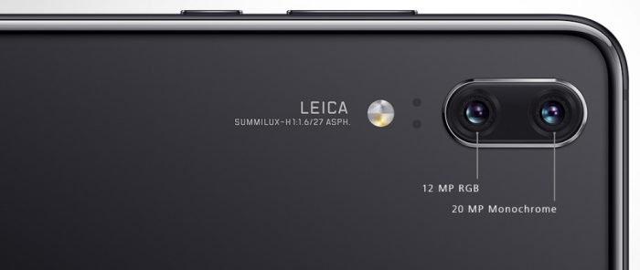 Huawei P20 Pro tiene una cámara triple con un sensor de 40 megapíxeles 6