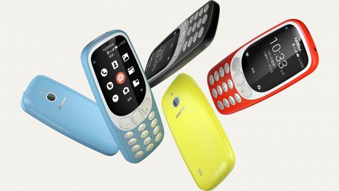 Nokia 3310 gana versión con 4G y variante de Android 1