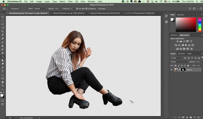 Adobe Photoshop se actualiza con el selector de objetos basado en IA 1