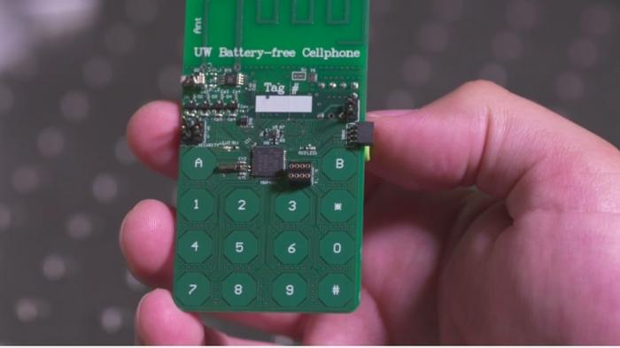 Los investigadores crean un prototipo de teléfono móvil que funciona sin batería 2