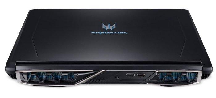 Acer Predator Helios 500 es un portátil de 17.3 pulgadas con Core i9 + y GTX 1070 1