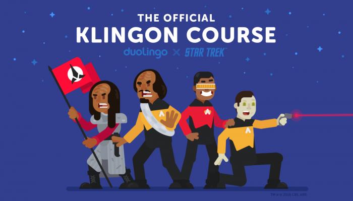 Duolingo lanza curso de klingon para fanáticos de Star Trek 1